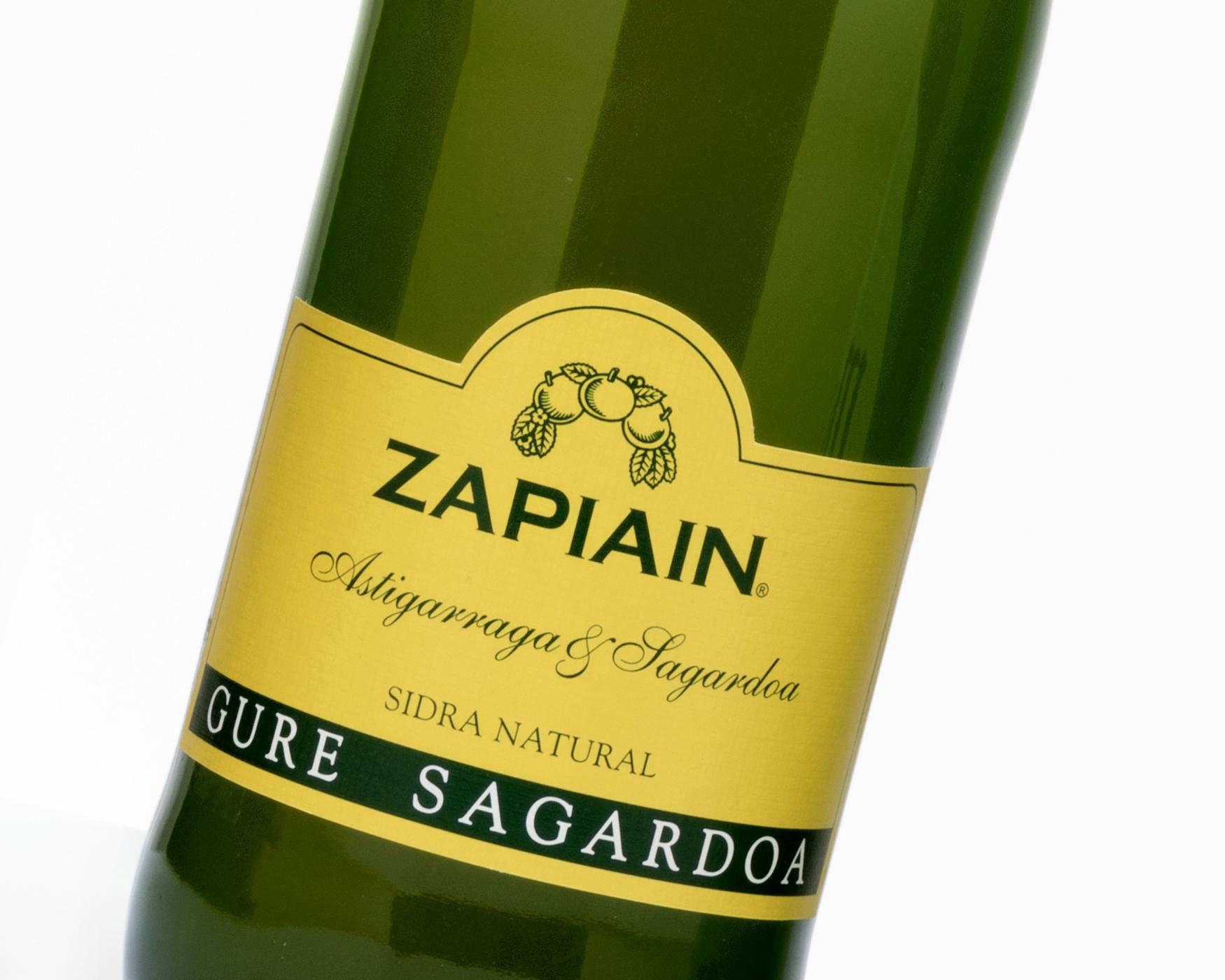 Sidra Zapiain. Etiquetas encolables. Labelgrafic